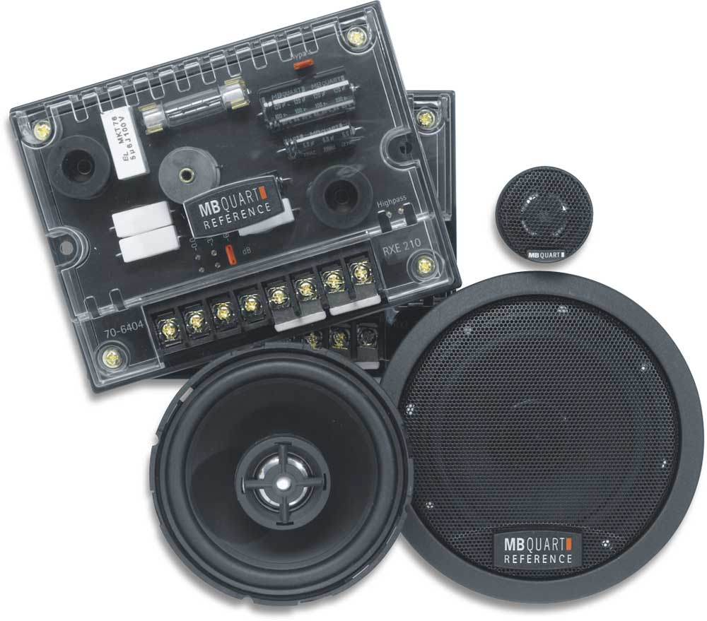Mb Quart Reference Rce210 4 Component Speaker System At Premium Series Amplifiers Digital Car Audio
