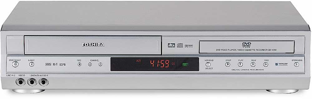 toshiba sd v392 combination dvd cd player hifi vcr at crutchfield com rh crutchfield com toshiba dvr620 dvd recorder vcr combo manual Toshiba TV VCR DVD Combo