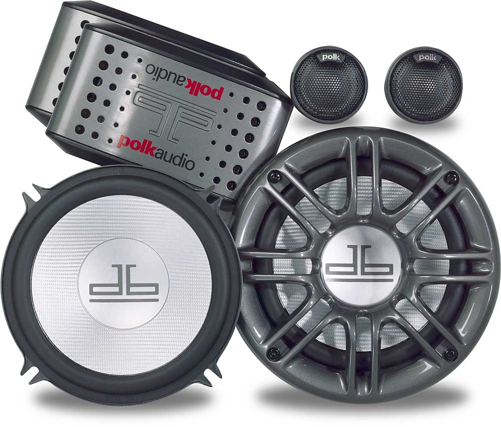 Polk Audio Db5250 5 1 4 Component Speaker System Certified For Loudspeaker Crossover Network Protection Circuit Marine Use At