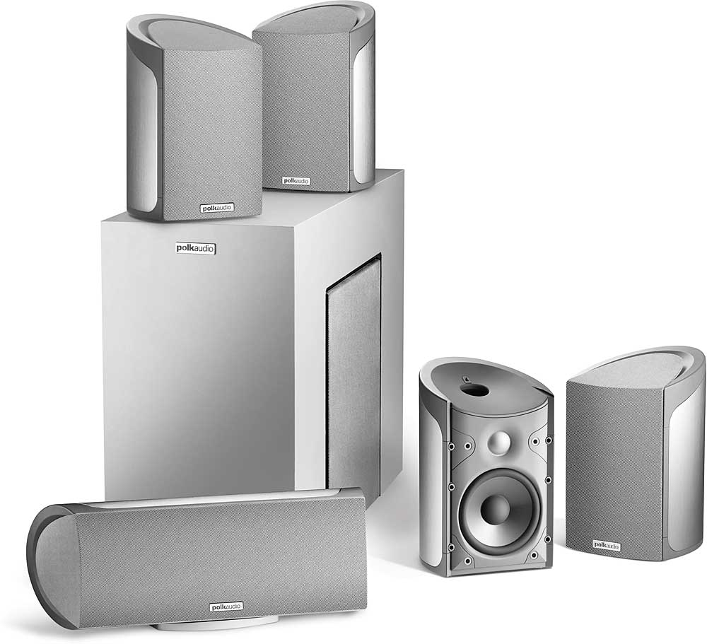 Polk Audio RM6800 5.1 home theater speaker system at Crutchfield.com