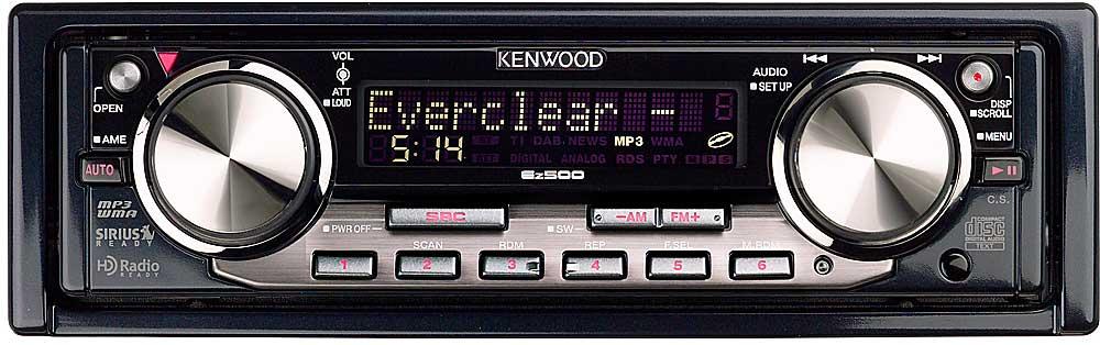 kenwood ez 500 cd mp3 wma receiver at crutchfield com rh crutchfield com Kenwood CD Receiver Manual Kenwood CD Player