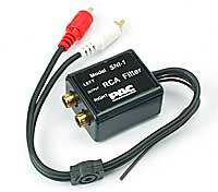 Pacific Micro SNI-1  RCA Ground Loop Noise Isolator