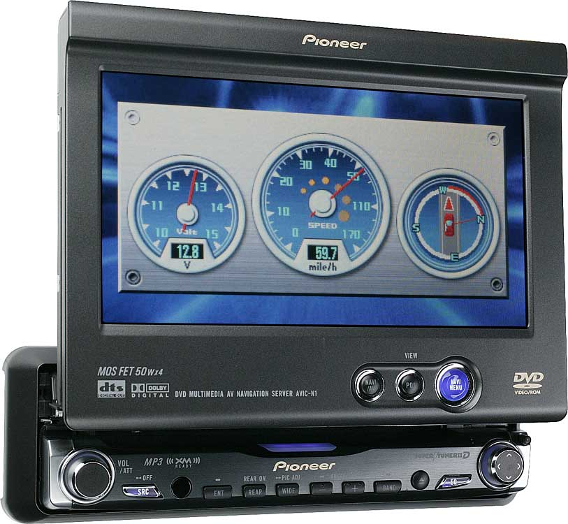 x130AVICN1 f pioneer avic n1 dvd cd mp3 gps navigation receiver with 6 5 pioneer avic-n1 cpn1899 wiring diagram at bayanpartner.co