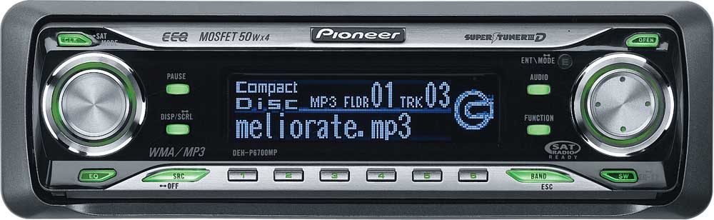x130DEHP670 f pioneer deh p6700mp cd receiver with mp3 wma playbackfeatures pioneer deh p6800mp wiring harness at crackthecode.co