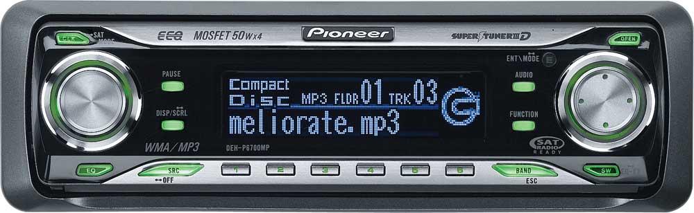 Pioneer Deh P5850mph Инструкция По Применению