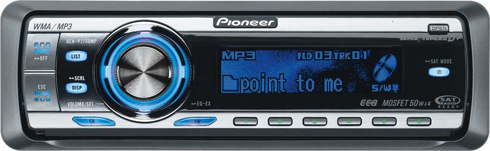 x130DEHP770 f pioneer deh p7700mp cd receiver with mp3 wma aac playbackfeatures pioneer deh-p7700mp wiring harness at bayanpartner.co