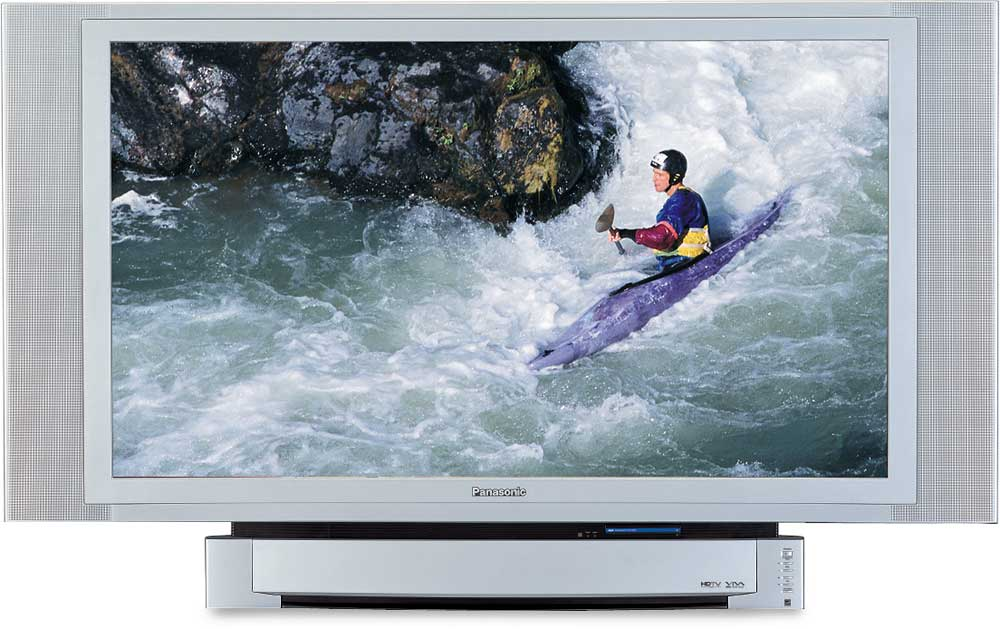 "Wireless Car Speakers >> Panasonic PT-60LC14 60"" HDTV-ready rear-projection LCD TV at Crutchfield"