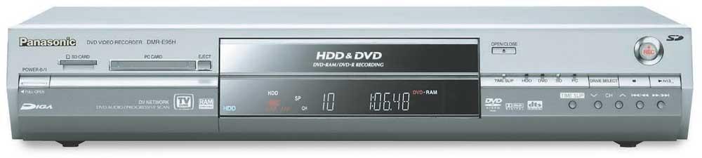 PANASONIC DMR-E95HS DVD RECORDER WINDOWS 8 DRIVER DOWNLOAD