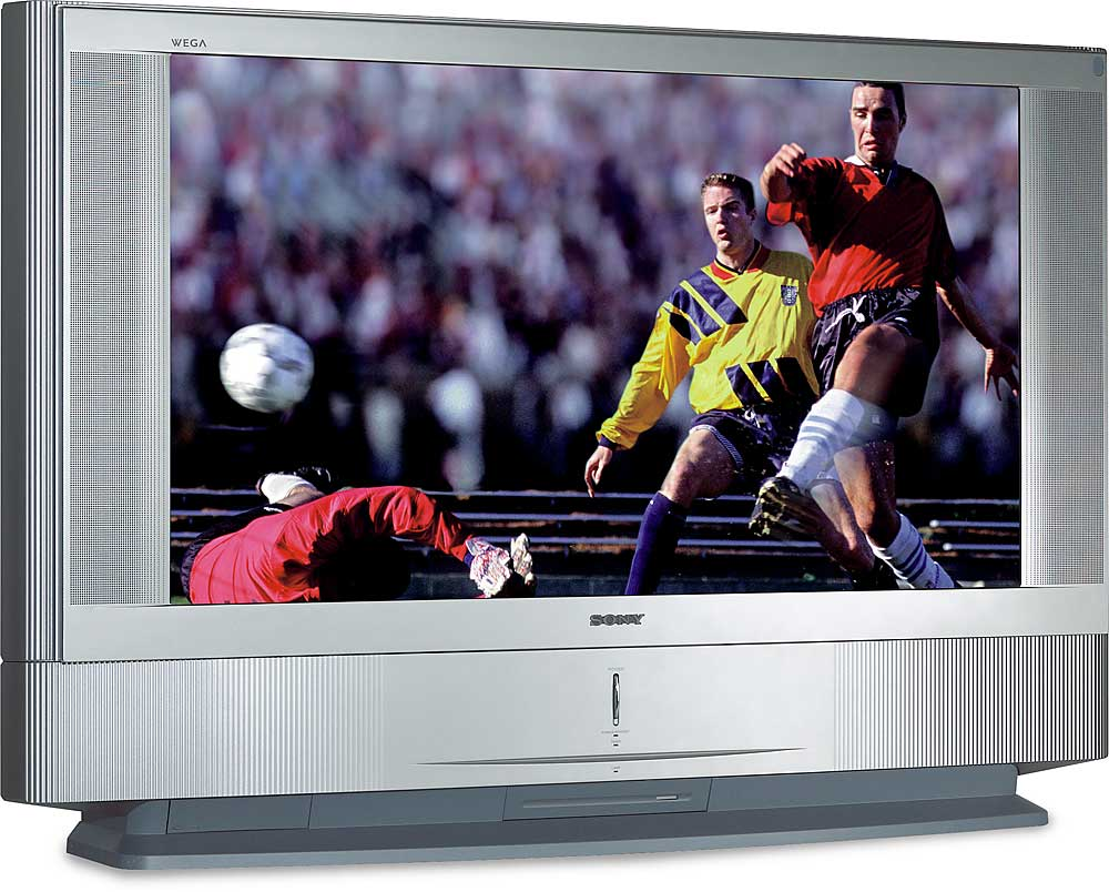Sony Kdf 42we655 42 Grand Wega High Definition Rear Projection Lcd Tv At Crutchfield