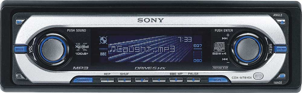 Sony cdx m7815x cd receiver with mp3 atrac3plus playback at sony cdx m7815x cd receiver with mp3 atrac3plus playback at crutchfield publicscrutiny Images