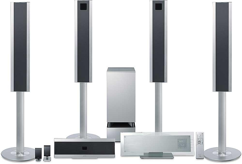 Sony DAV-LF1 Platinum DVD Dream® system with wireless rear speakers ...