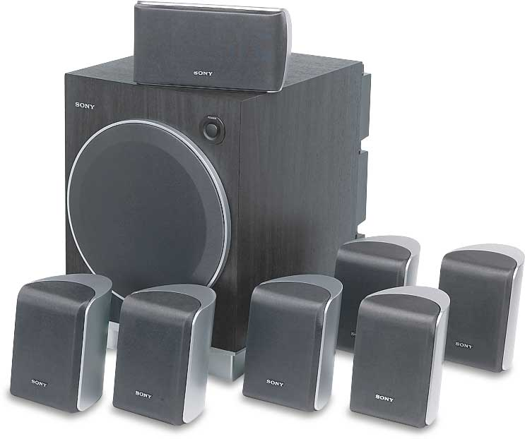 X Save F on Sony Home Theater System Installation