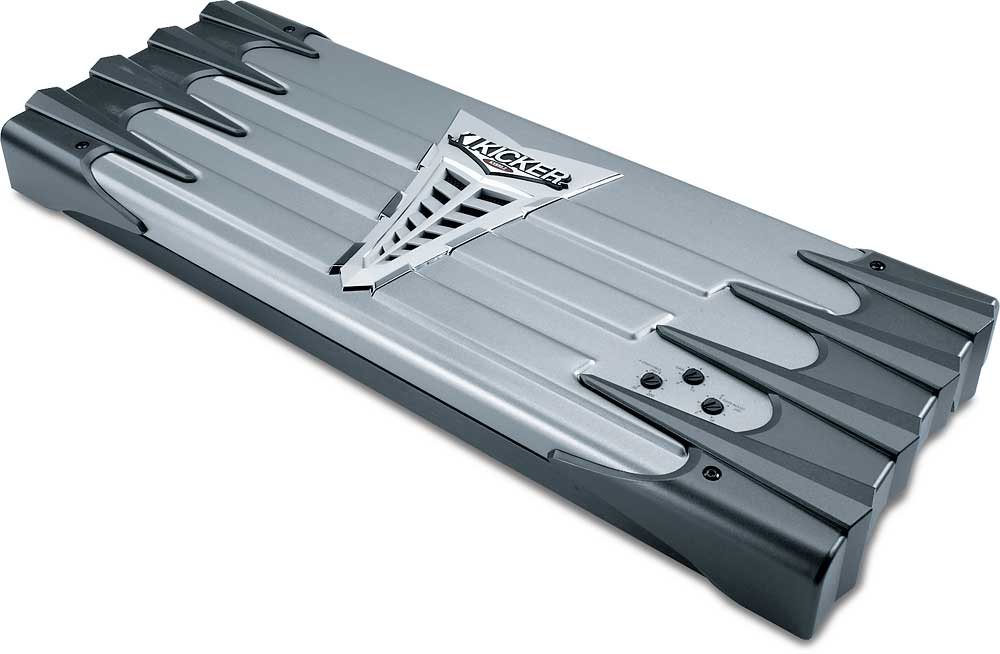 Kicker KX850.2 2-channel car amplifier 295 watts RMS x 2 at ...