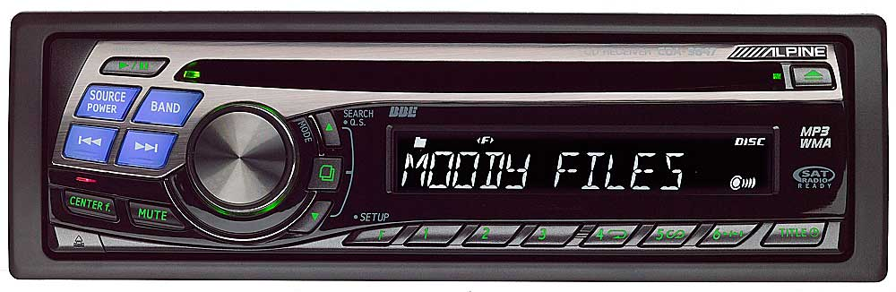 alpine cda 9847 cd player with mp3 wma playback at crutchfield com rh crutchfield com