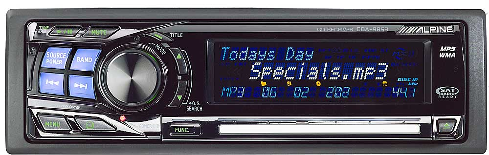 x500CDA9853 f alpine cda 9853 cd player with mp3 wma playback at crutchfield com alpine cda-9853 wiring diagram at bayanpartner.co