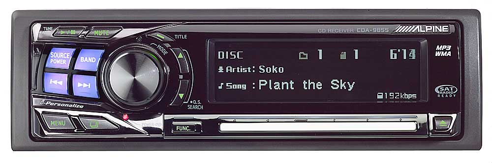 x500CDA9855 f alpine cda 9855 cd receiver with mp3 wma playback at crutchfield com alpine cda 9855 wiring diagram at bayanpartner.co