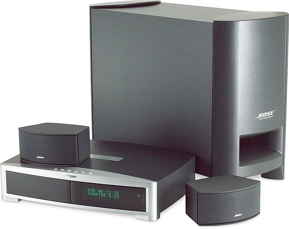 Bose® 3 · 2 · 1® GSX (Graphite gray) 3-speaker DVD home ...