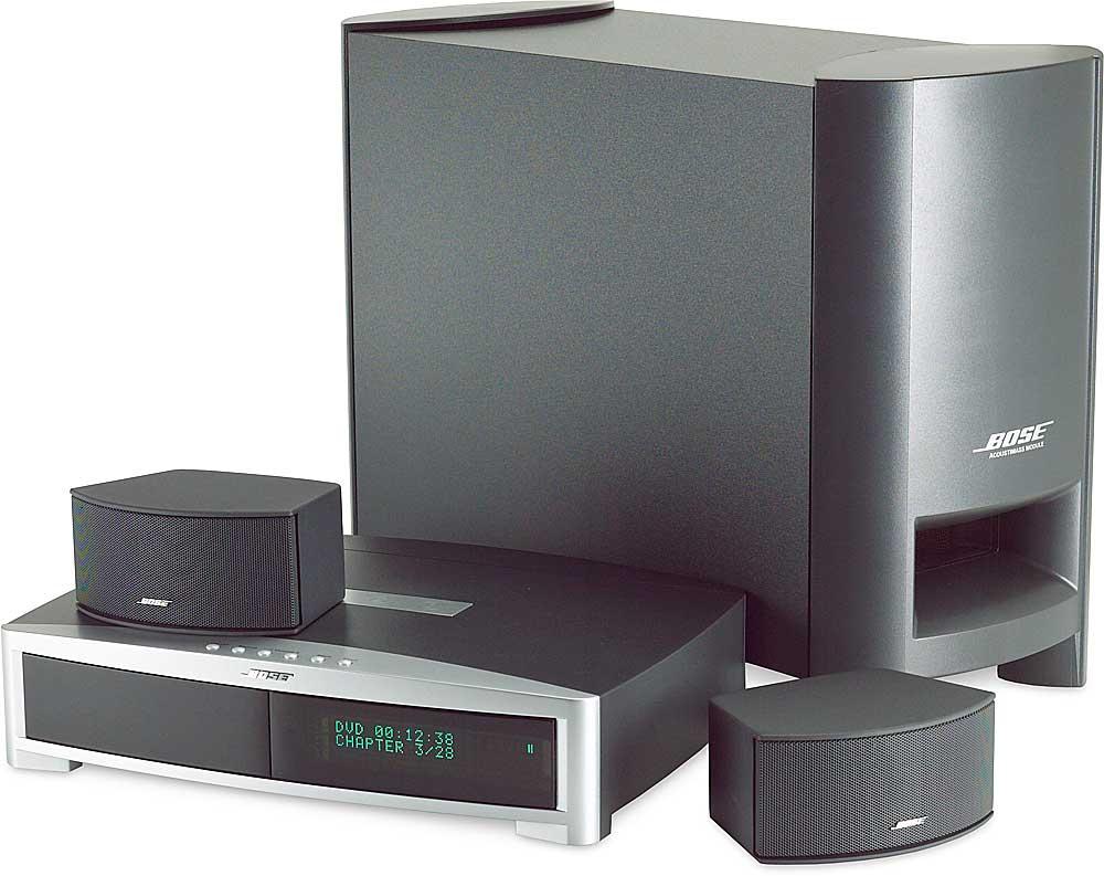 Bose Car Subwoofers >> Bose® 3 · 2 · 1® GSX (Graphite gray) 3-speaker DVD home entertainment system at Crutchfield.com