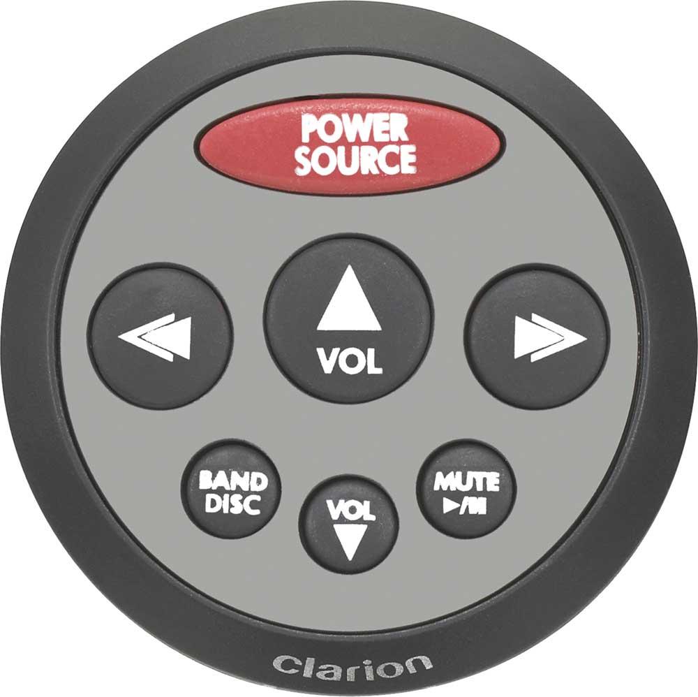 Clarion CMRC2-SB Wired marine remote control at Crutchfield.com