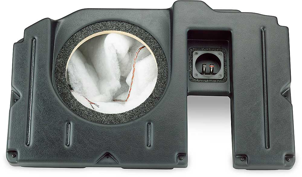 Dodge Ram Quad Cab >> Q-Customs Factory-fit Subwoofer Enclosures (Black) 2002-up ...