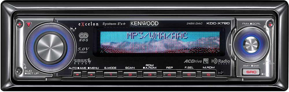 Kenwood Excelon KDCX790 CD receiver at Crutchfield – Kenwood Kdc-x790 Wiring Diagram