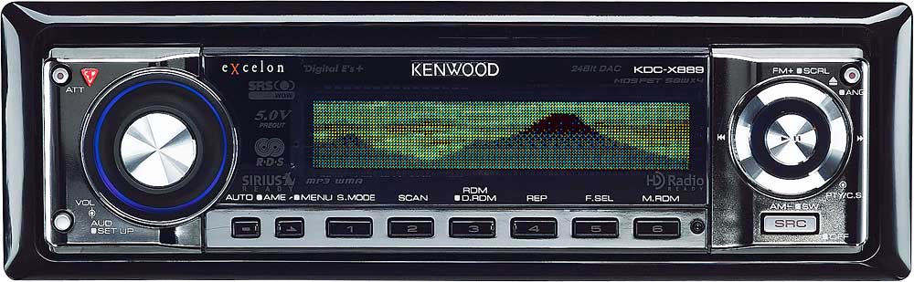 x113KDCX889 f_LD kenwood excelon kdc x889 cd receiver with mp3 wma aac playback at kenwood kdc-x889 wiring diagram at highcare.asia