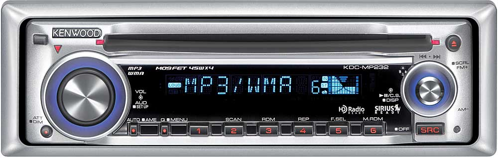 kenwood kdc mp232 cd player with mp3 wma playback at crutchfield com kenwood kdc-mp522 wiring diagram kenwood kdc mp232 wiring diagram #15