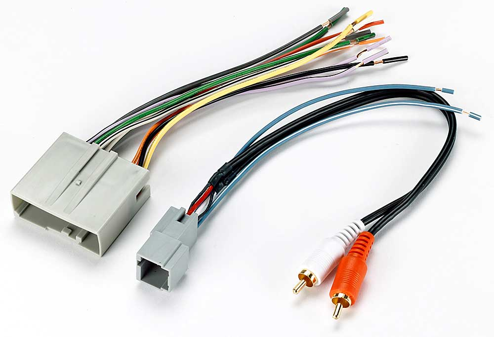 x120705521 f metra 70 5521 receiver wiring harness connect a new car stereo in Ford Car Stereo Wiring Harness at fashall.co