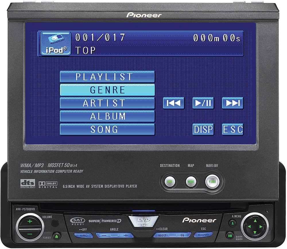 x130AVHP570 f_ pioneer avh p5700dvd dvd cd receiver with 6 5\