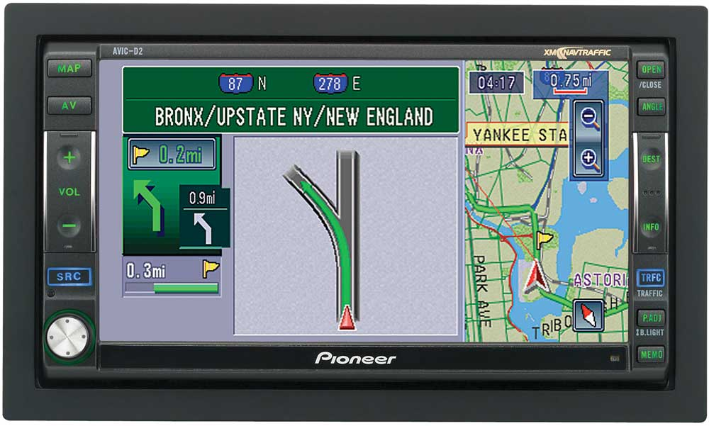 Brilliant Pioneer Avic D2 Cd Receiver With Mp3 Wma Playback Navigation And Wiring 101 Vieworaxxcnl