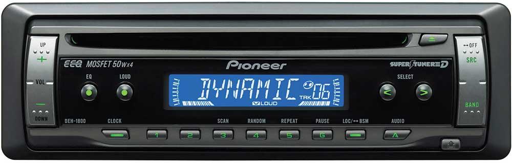 pioneer deh 1800 cd receiver at crutchfield com rh crutchfield com pioneer deh 1800ub manual pioneer deh 1600 manual