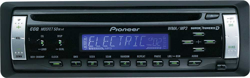 pioneer deh 2800mp cd receiver with mp3 wma playback at crutchfield comPioneer Deh 2800mp Wiring Diagram Pioneer Deh 2800mp Radio Cd Manual #10