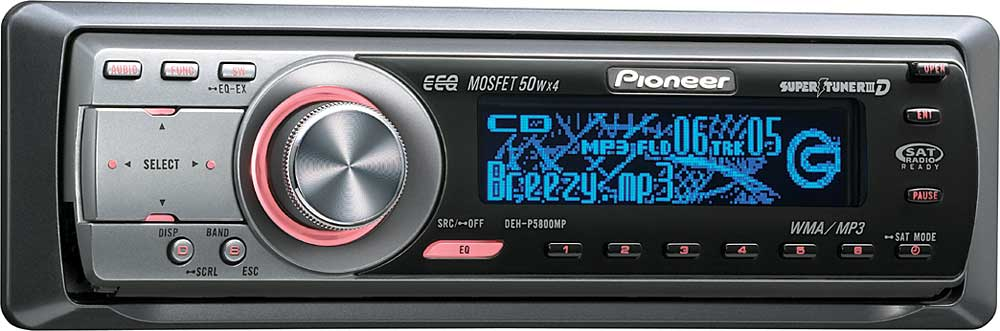 x130DEHP580 f_mt pioneer deh p5800mp cd receiver with mp3 wma playback at pioneer deh p6800mp wiring harness at gsmportal.co