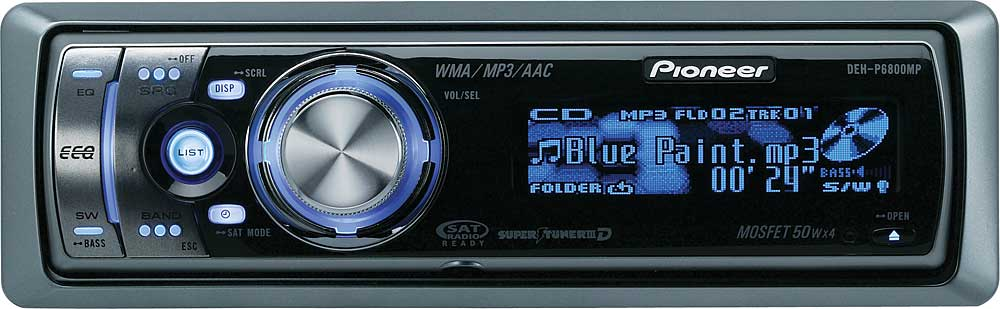 pioneer deh p6800mp cd receiver with mp3 wma playback at crutchfield com rh crutchfield com pioneer deh p6800mp installation manual pioneer deh-p6800mp wiring diagram