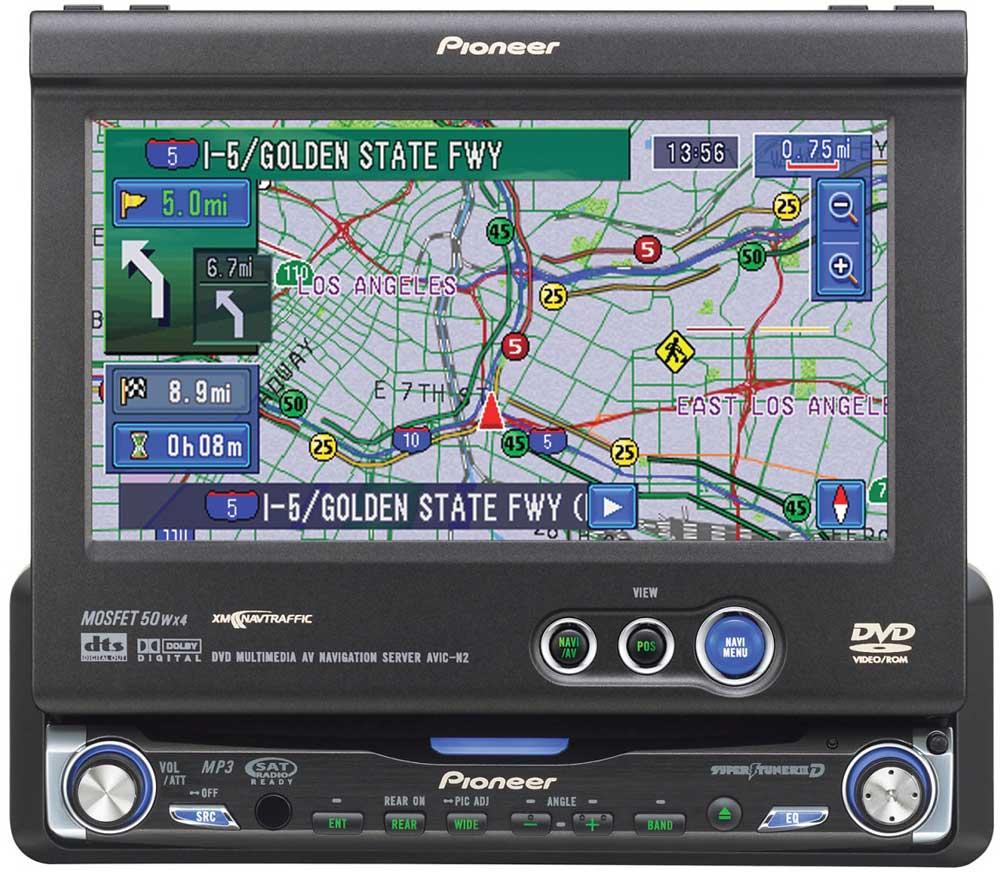 pioneer avic n2 dvd cd navigation receiver with 6 5\