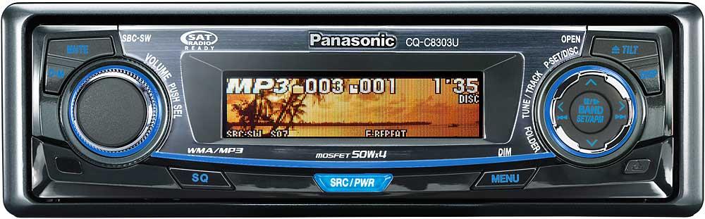 x133C8303 f_mt panasonic cq c8303u cd receiver with mp3 wma playback at panasonic cq c3303u wiring diagram at n-0.co