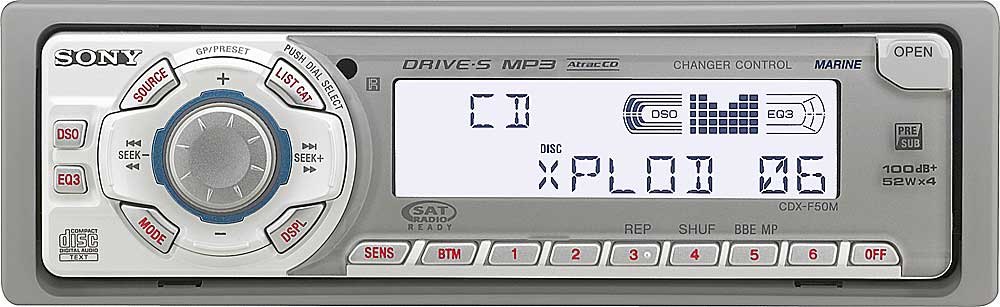 x158CDXF50M f_ sony cdx f50m marine cd receiver with mp3 playback at crutchfield com sony cdx f50m wiring diagram at panicattacktreatment.co