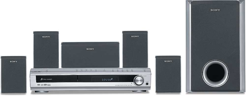Sony Dav Dx150 5 Disc Dvd Home Theater System At Crutchfield