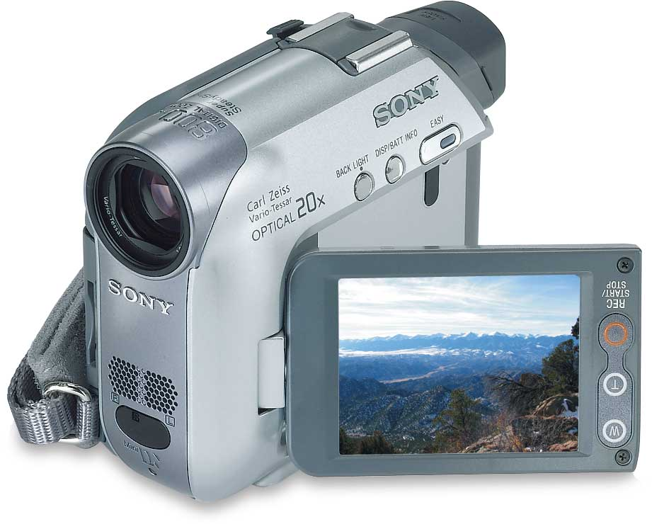 Sony Dcr Hc32 Mini Dv Digital Camcorder At Crutchfield Com