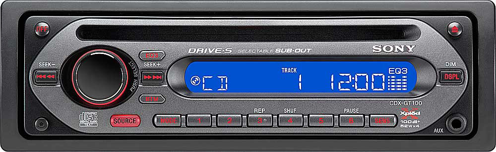 sony cdx gt100 cd player at crutchfield com rh crutchfield com DVM Wiring Diagrams for 100 Sony Cdx GT 330 Manual
