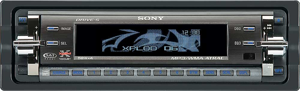 Sony Cdx Ra700 Cd Player With Wma