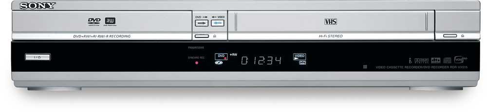 sony rdr vx515 combination dvd recorder hifi vcr at crutchfield com rh crutchfield com Sony DVD Recorder VCR Combo JVC DVD VCR Combo Manual