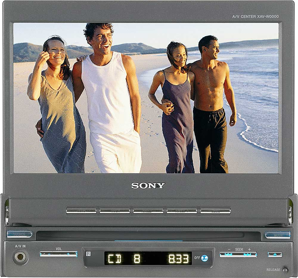 Sony Xav A1 Dvd Receiver With Retractable 7 Monitor At 60 Wiring Harness