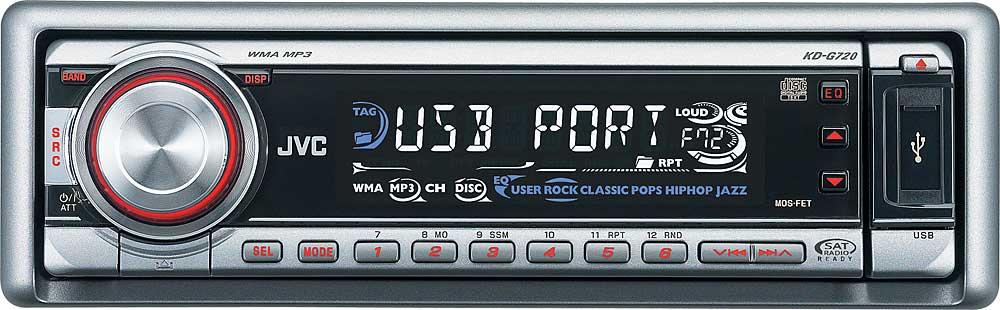 jvc kd g720 cd receiver with mp3 wma playback at crutchfield com rh crutchfield com JVC User Manual KD- G430 JVC User Manual JVC KD r775s