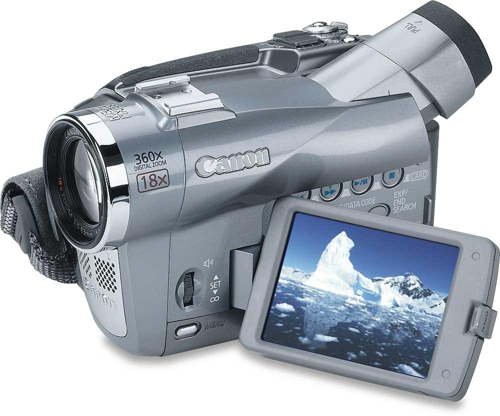 canon elura 80 mini dv digital camcorder at crutchfield com rh crutchfield com Canon Camcorder Elura 80 Canon Elura 100 Driver