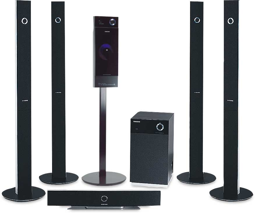 samsung ht p1200 dvd home theater system with digital video output and upconversion at