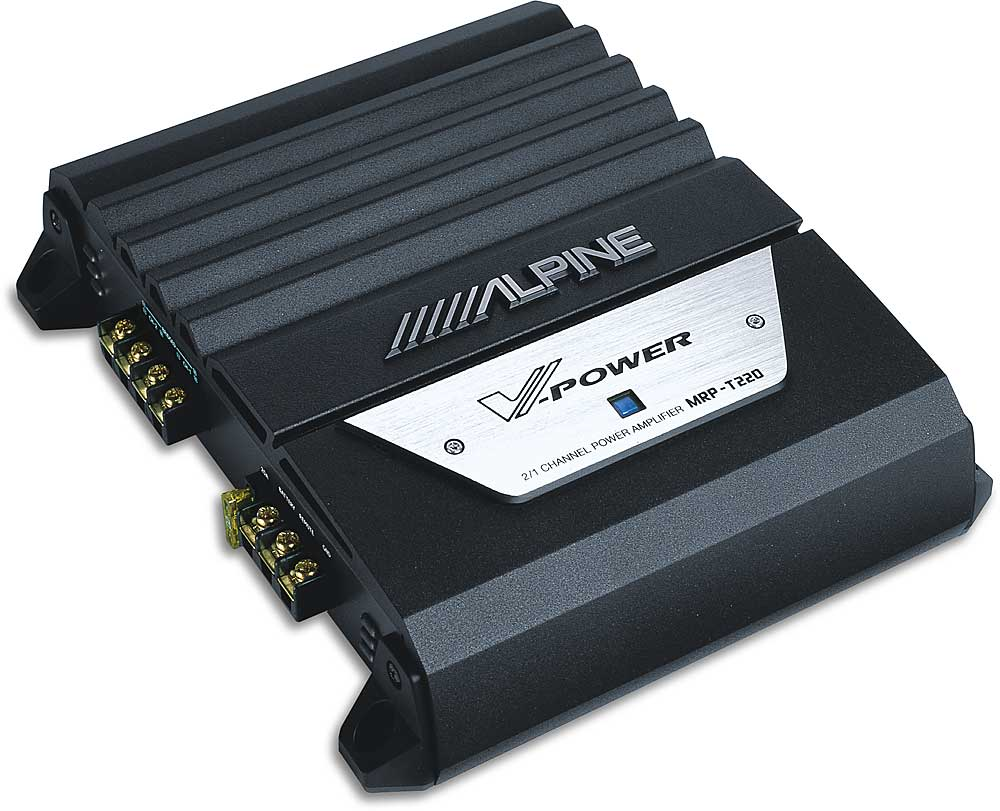 Alpine Mrpt220 2channel Car Amplifier 50 Watts Rms X 2 At Crutchfield