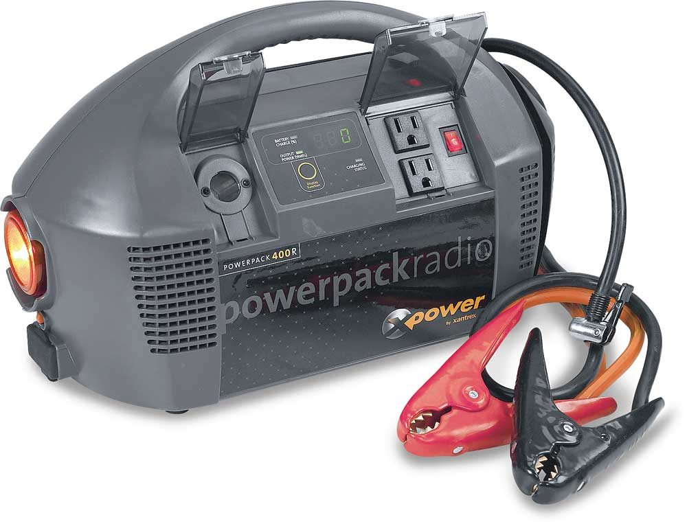 Xantrex XPower Powerpack 400R DC to AC power inverter/air compressor