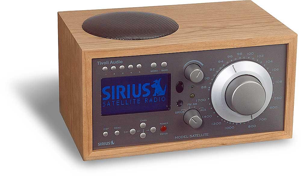 Tivoli Model Satellite Sirius Am Fm Table Radio At