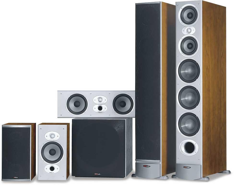 polk audio rti series home theater speaker system at. Black Bedroom Furniture Sets. Home Design Ideas
